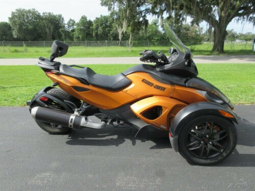 2011 Can-Am Spyder Roadster RS-S Copper for sale craigslist