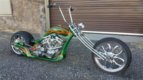 2011 Custom Built Motorcycles Chopper EMERAL GREEN METALIC craigslist