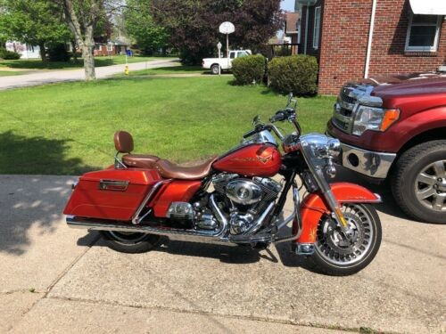 2011 Harley-Davidson Touring Sedona Orange for sale craigslist