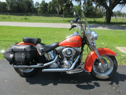 2012 Harley-Davidson Softail Heritage Softail® Classic Orange for sale craigslist