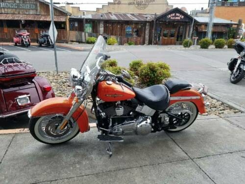 2012 Harley-Davidson Softail Orange for sale