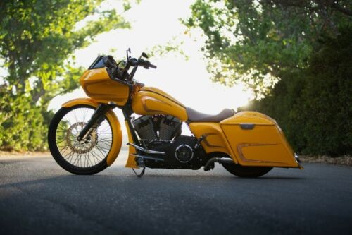 2012 Harley-Davidson Touring HD chrome yellow for sale craigslist