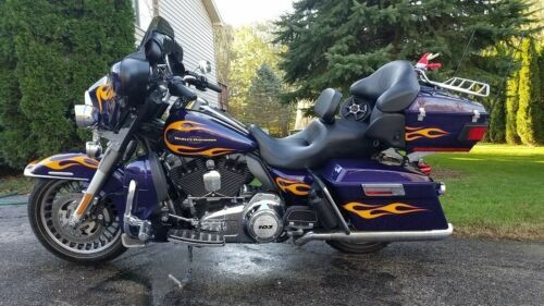 2012 Harley-Davidson Touring Purple for sale craigslist