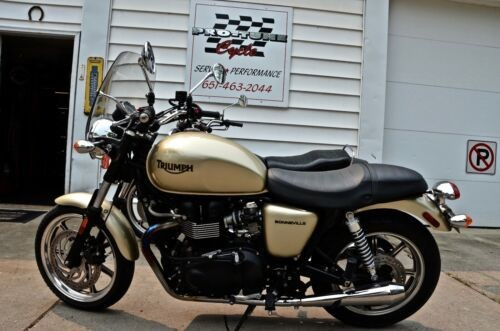 2012 Triumph Bonneville Gold for sale craigslist