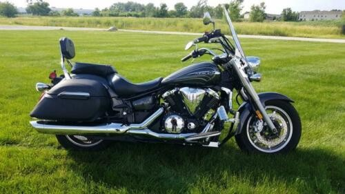 2012 Yamaha V Star 1300 Tourer -- Gray for sale craigslist