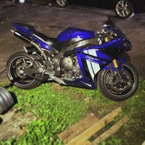 2012 Yamaha YZF-R Blue for sale