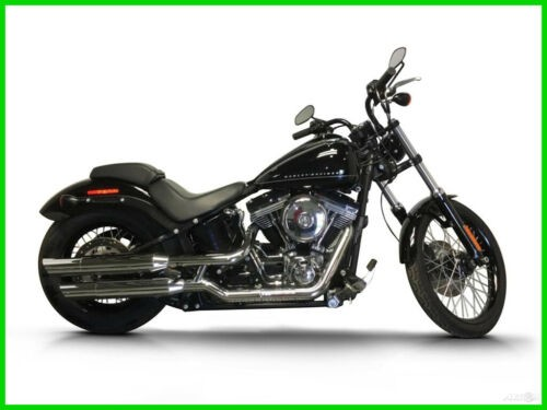 2013 Harley-Davidson FXS-BLACKLINE CALL (877) 8-RUMBLE Black for sale craigslist