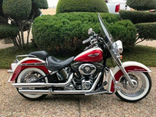 2013 Harley-Davidson Softail Deluxe -- Red for sale craigslist