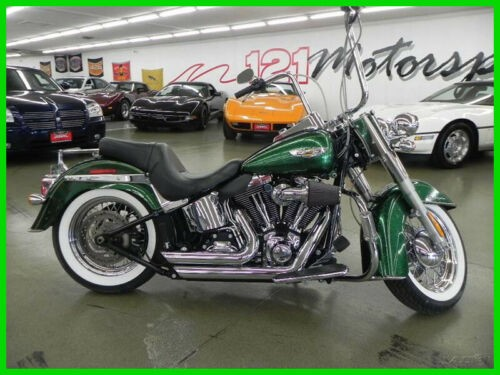2013 Harley-Davidson Softail DELUXE CANDY GREEN for sale