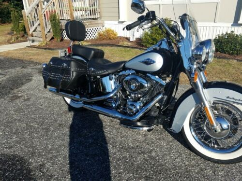 2013 Harley-Davidson Softail blue and silver for sale craigslist