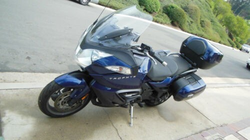 2013 Triumph Trophy Blue for sale