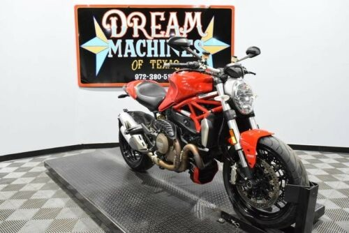 2014 Ducati Monster 1200 -- Red for sale craigslist