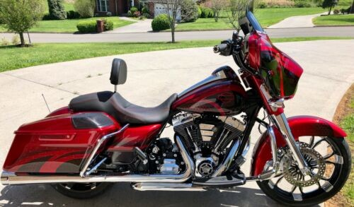2014 Harley-Davidson FLHXS Street Glide Special Candy Apple Red for sale