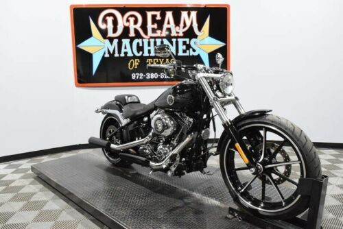 2014 Harley-Davidson FXSB - Softail Breakout -- Black for sale craigslist