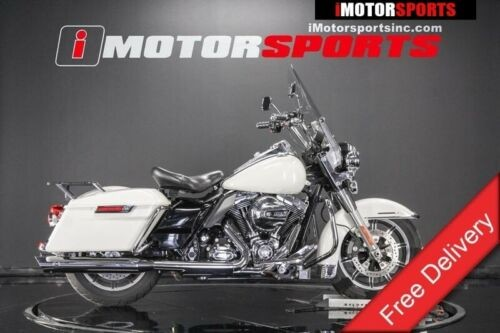 2014 Harley-Davidson Road King Police Edition -- White for sale