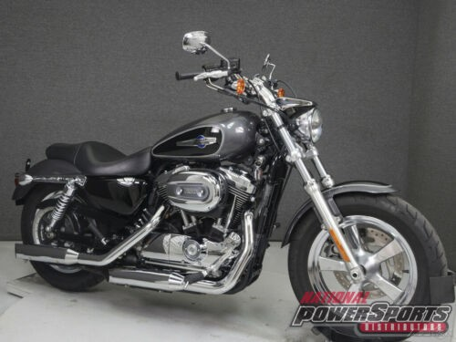 2014 Harley-Davidson Sportster XL1200C 1200 CUSTOM CHARCOAL PEARL/VIVID BLACK for sale