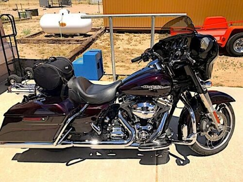 2014 Harley-Davidson Touring Blackened Cayenne Sunglow for sale craigslist