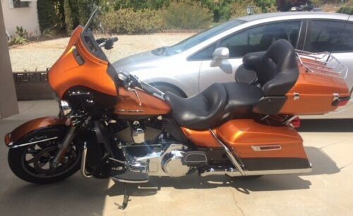 2014 Harley-Davidson Touring burnt orange for sale craigslist