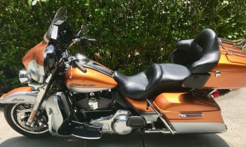 2014 Harley-Davidson Touring whiskey and silver for sale