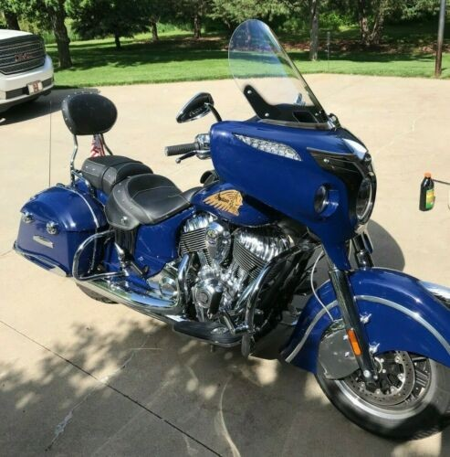 2014 Indian Chieftain -- Blue for sale
