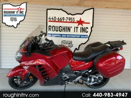 2014 Kawasaki Concours 14 ABS -- Red for sale craigslist