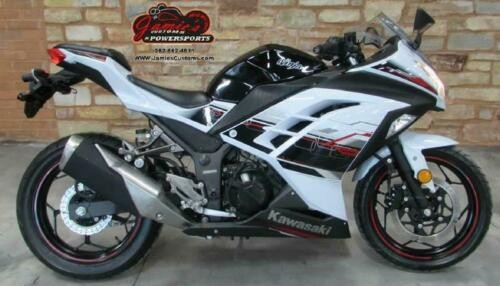 2014 Kawasaki Ninja 300 SE White for sale