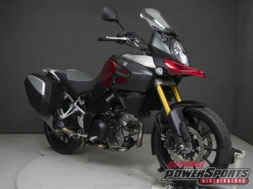 2014 Suzuki DL1000 VSTROM 1000 W/ABS RED/SILVER for sale craigslist