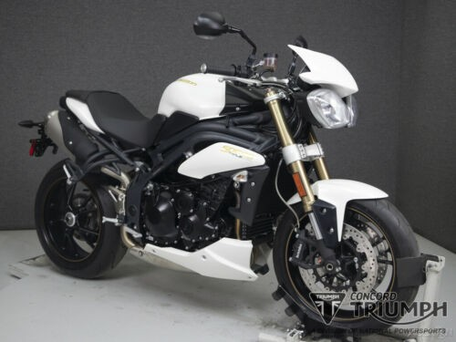2014 Triumph Speed Triple CRYSTAL WHITE craigslist