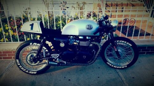 2014 Triumph Thruxton old school rat for sale