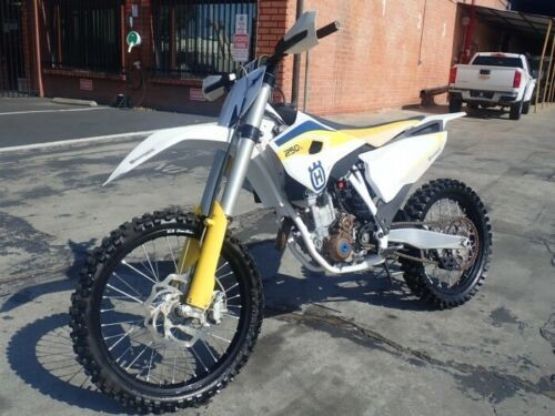 2015 Husqvarna FC250 White for sale