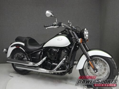 2015 Kawasaki Vulcan VN900 CLASSIC BLACK/METALLIC MATTE CARBON GRAY/WHITE for sale