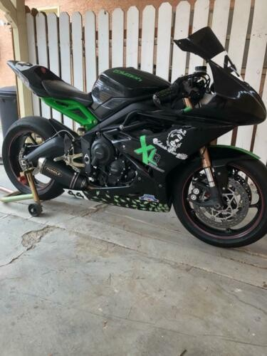 2015 Triumph Daytona Black for sale craigslist