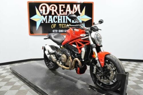 2016 Ducati Monster 1200 -- Red for sale craigslist