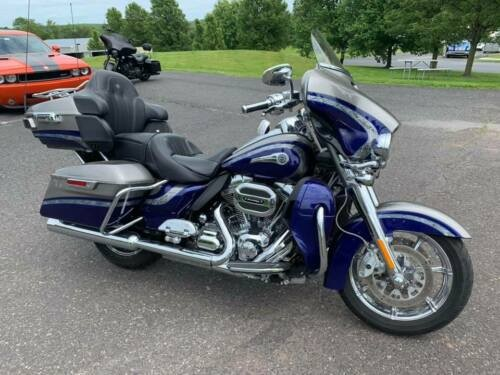 2016 Harley-Davidson Touring Stunning Palladium Silver/Phantom Blue for sale craigslist