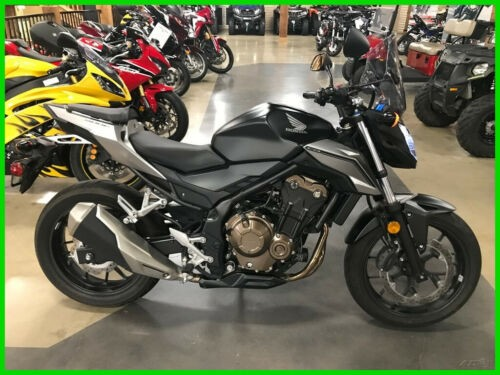 2016 Honda CB 500F Black for sale