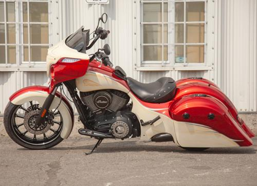 2016 Indian Chieftain Red Arrow Red and Cream craigslist