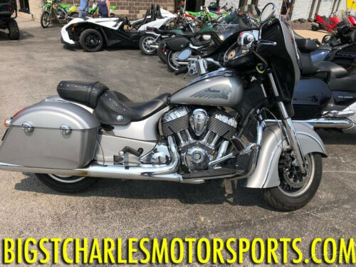2016 Indian Chieftain Silver Smoke Silver Smoke Silver for sale