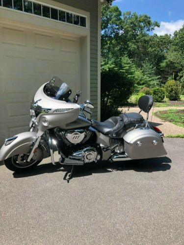 2016 Indian Chieftain Silver for sale craigslist