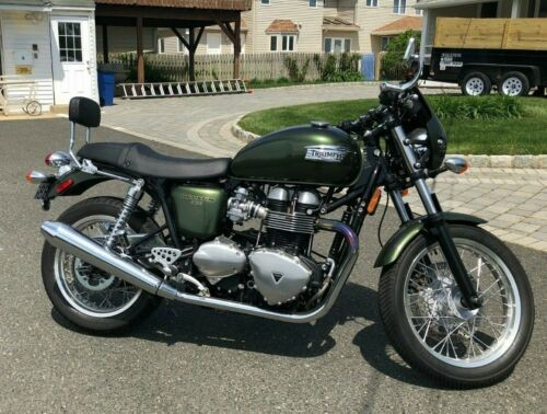 2016 Triumph thruxton Green for sale craigslist