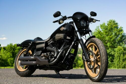 2017 Harley-Davidson Dyna Vivid Black for sale craigslist