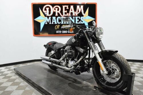 2017 Harley-Davidson FLS - Softail Slim -- Black for sale craigslist