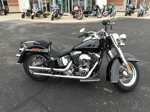 2017 Harley-Davidson Softail DELUXE FLSTN Black for sale craigslist