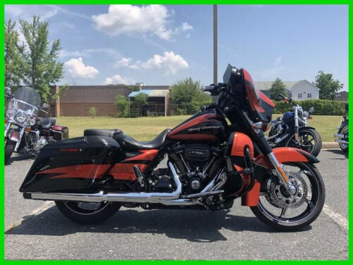 2017 Harley-Davidson Touring Sunburst Orange/Starfire Black for sale