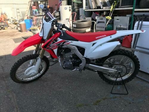 2017 Honda CRF for sale craigslist