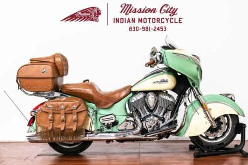 2017 Indian Roadmaster® Classic Willow Green over Ivory Cream -- Green craigslist
