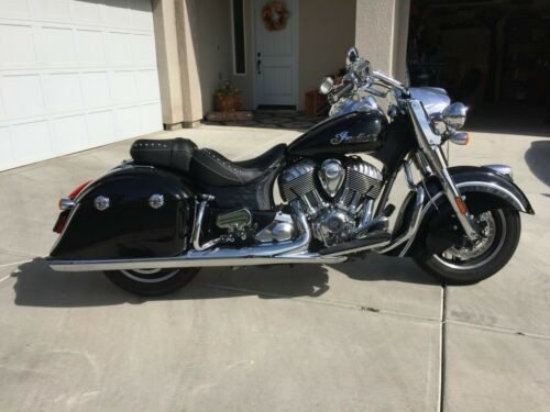 2017 Indian Springfield Black for sale