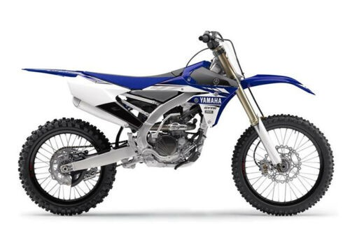2017 Yamaha YZ250F -- Blue for sale
