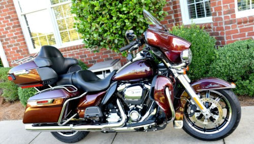 2018 Harley-Davidson Touring Twisted Cherry Paint craigslist