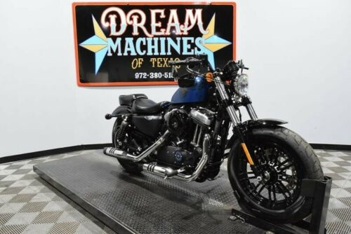 2018 Harley-Davidson XL1200X - Sportster Forty-Eight 115th Anniversary -- Blue craigslist