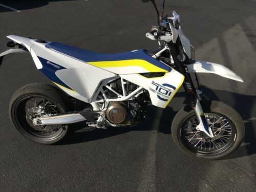 2018 Husqvarna supermoto White for sale craigslist